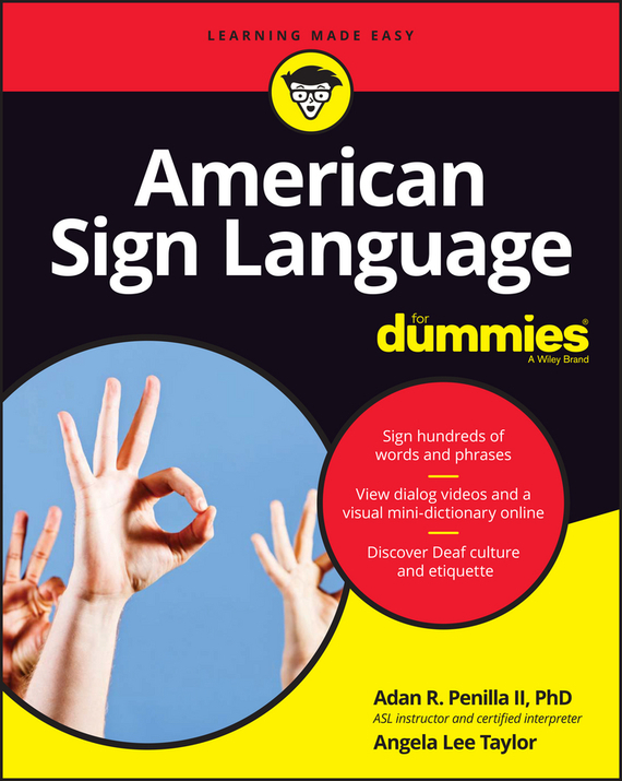 Angela Taylor Lee American Sign Language For Dummies 50117k g sot223