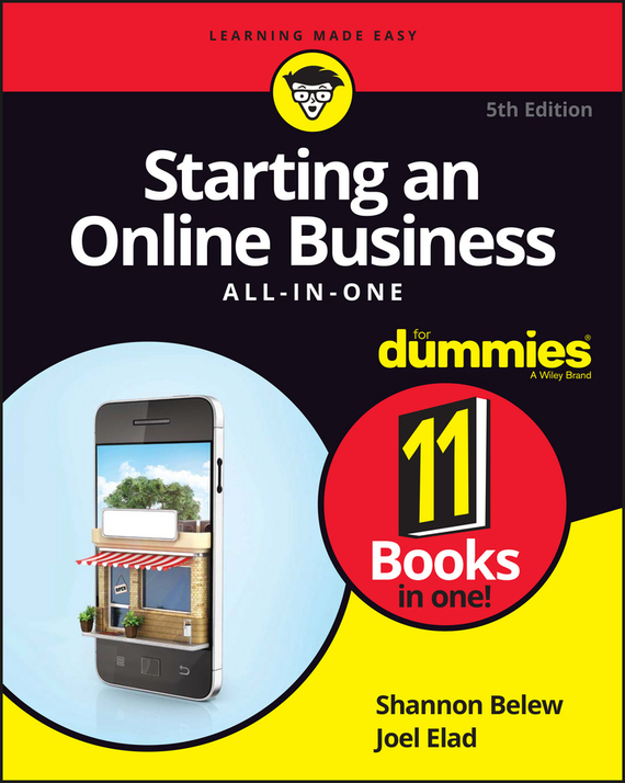 Joel  Elad Starting an Online Business All-in-One For Dummies kate shoup starting an etsy business for dummies