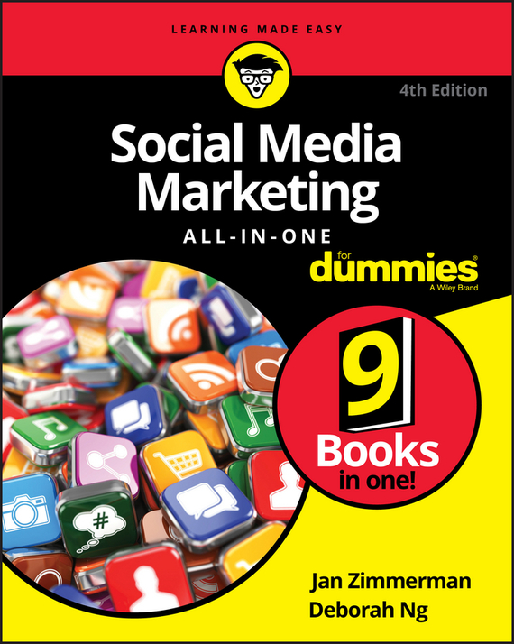 Jan  Zimmerman Social Media Marketing All-in-One For Dummies