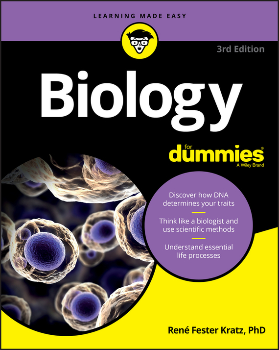 Rene Kratz Fester Biology For Dummies ISBN: 9781119345411
