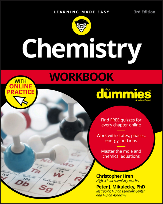 Chris Hren Chemistry Workbook For Dummies chemistry for dummies