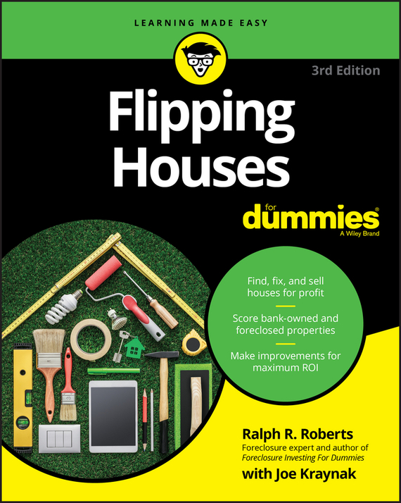 Joseph  Kraynak Flipping Houses For Dummies greenty одноразовые пеленки 60x60 greenty 10 шт