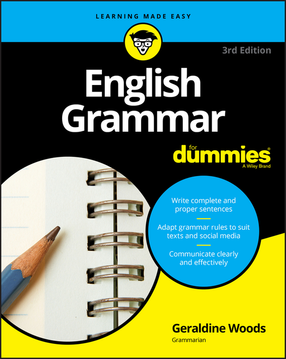 Geraldine  Woods English Grammar For Dummies edouard dujardin we ll to the woods no more