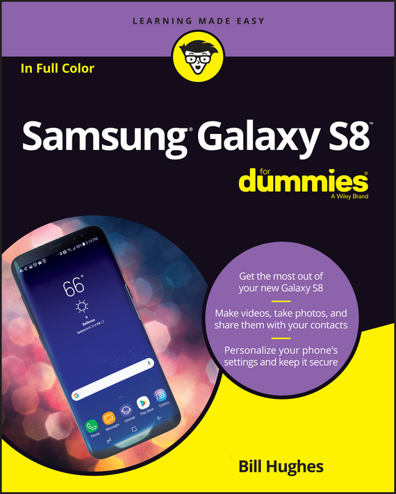 Bill Hughes Samsung Galaxy S8 For Dummies оригинальный samsung galaxy s8 s8 plus nillkin супер матовая защита щита случай телефона