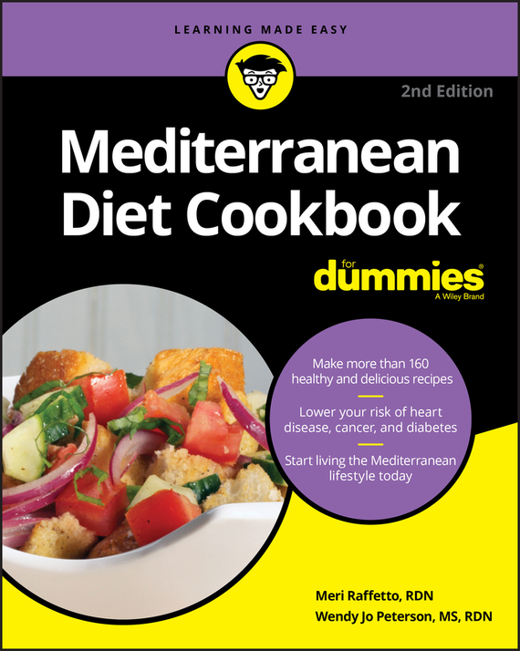 Meri Raffetto Mediterranean Diet Cookbook For Dummies the skinny gut diet