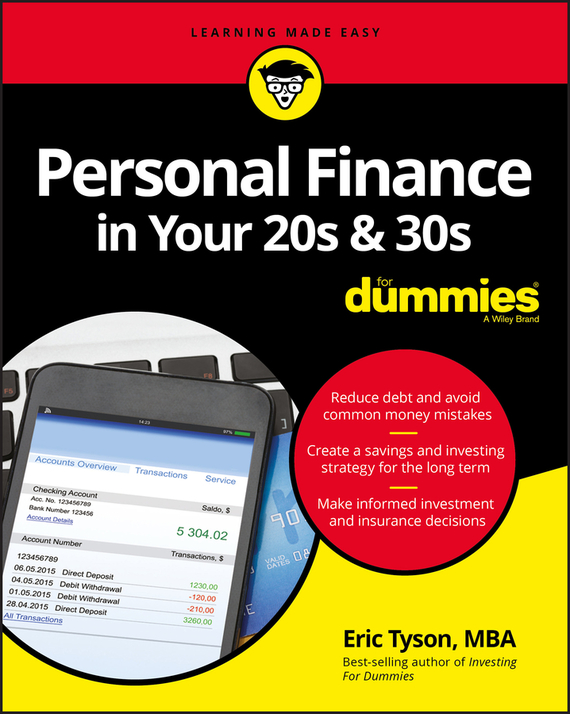 Eric  Tyson Personal Finance in Your 20s and 30s For Dummies ayse evrensel international finance for dummies