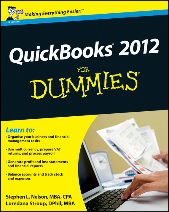 Loredana  Stroup QuickBooks 2012 For Dummies tony levene investing for dummies uk