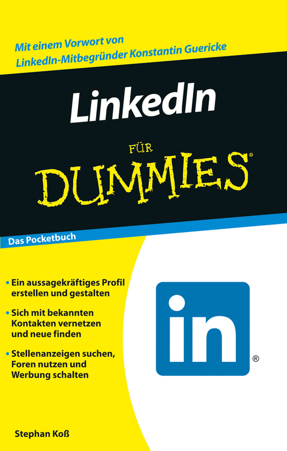 Stephan Koß LinkedIn für Dummies