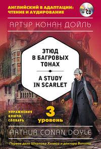 Артур Конан Дойл - Этюд в багровых тонах / A Study in Scarlet. 3 уровень (+ MP3)