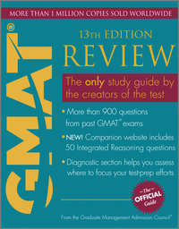 - The Official Guide for GMAT Review
