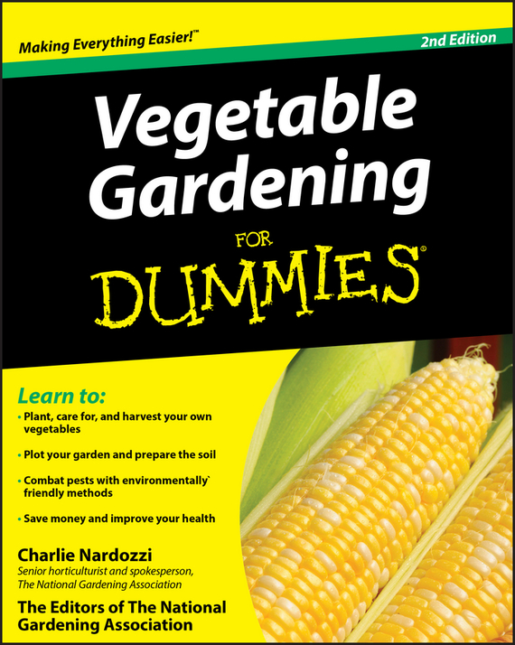 Charlie Nardozzi Vegetable Gardening For Dummies