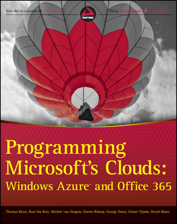 David Mann Programming Microsoft's Clouds. Windows Azure and Office 365