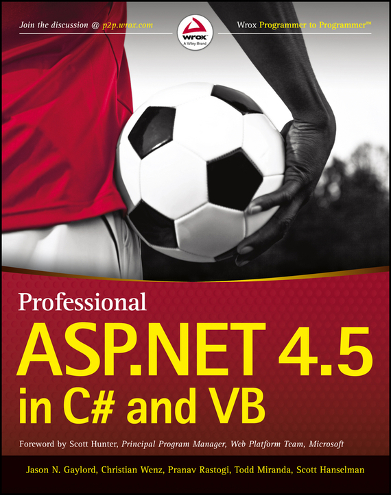 Scott Hanselman Professional ASP.NET 4.5 in C# and VB ISBN: 9781118424384 intergovernmental finances in hungary a decade of experience 1990 2000