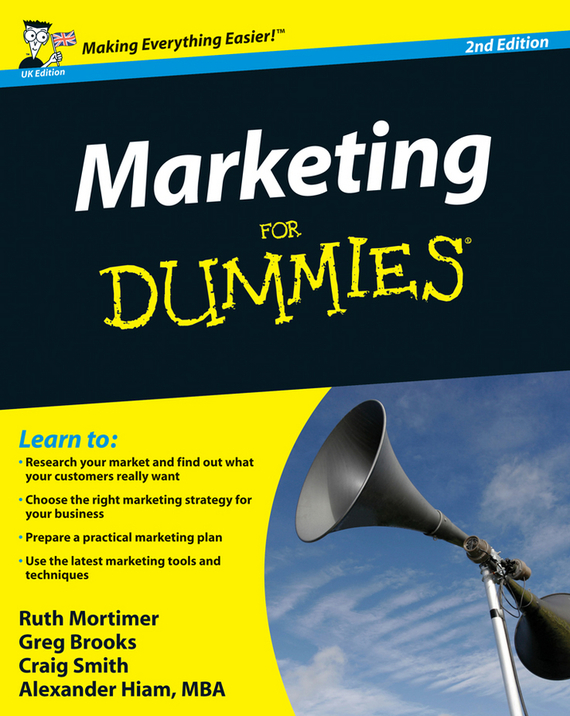 Craig  Smith Marketing For Dummies michael hyman marketing research kit for dummies