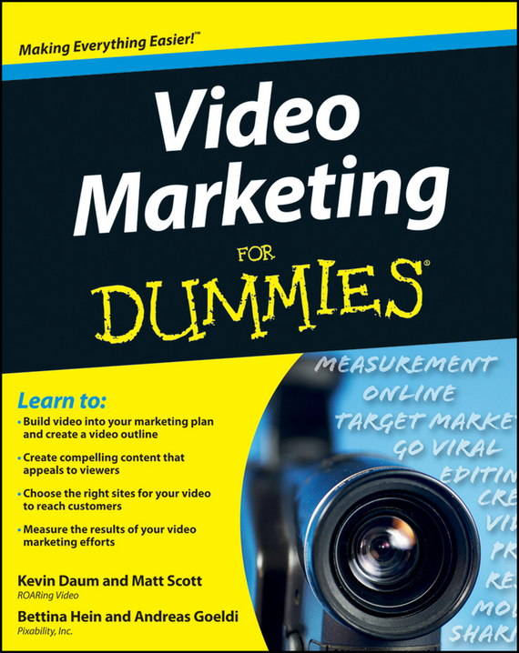 Kevin  Daum Video Marketing For Dummies michael hyman marketing research kit for dummies