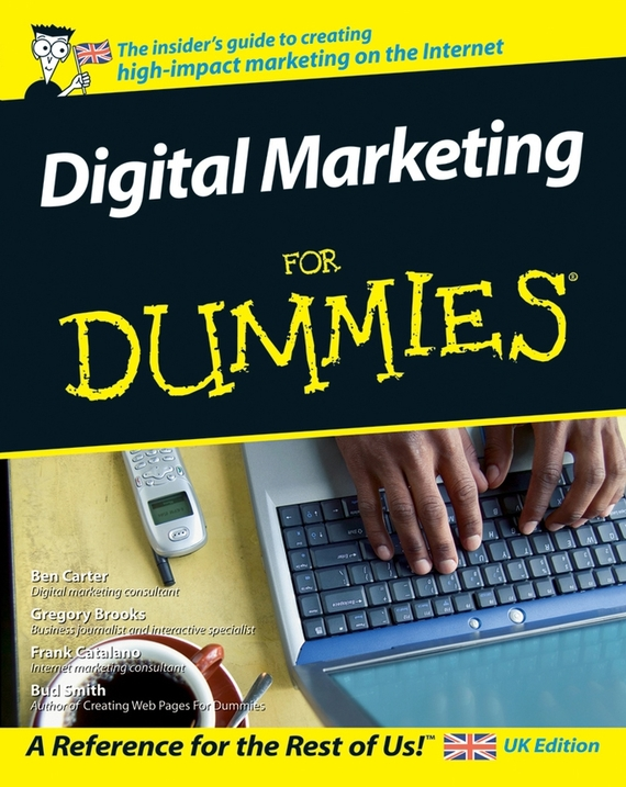 Gregory  Brooks Digital Marketing For Dummies tony levene investing for dummies uk