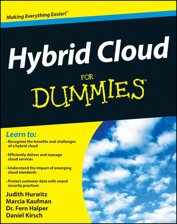 Marcia  Kaufman Hybrid Cloud For Dummies journey to the center of the earth