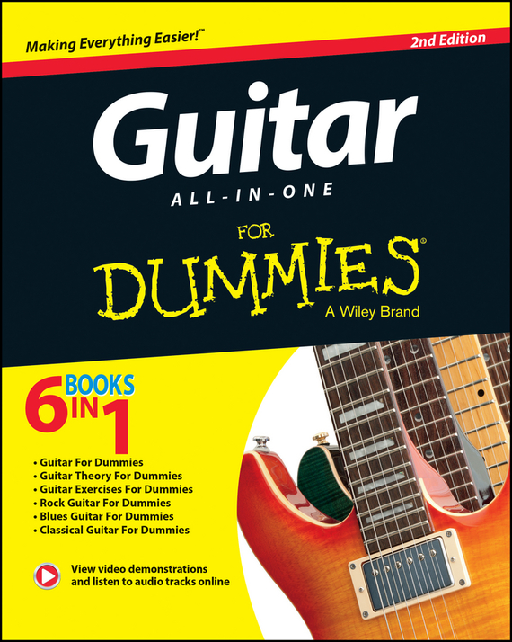 Jon  Chappell Guitar All-In-One For Dummies jon chappell rock guitar for dummies®