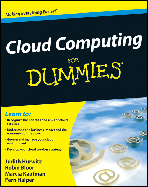 Robin Bloor Cloud Computing For Dummies ISBN: 9780470597408 soft computing and applications