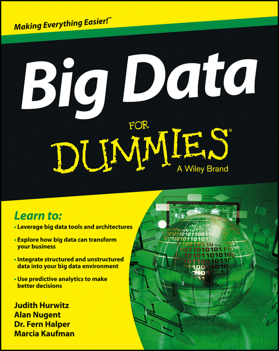 Marcia  Kaufman Big Data For Dummies tony boobier analytics for insurance the real business of big data