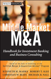 Robert Slee T. - Middle Market M & A. Handbook for Investment Banking and Business Consulting