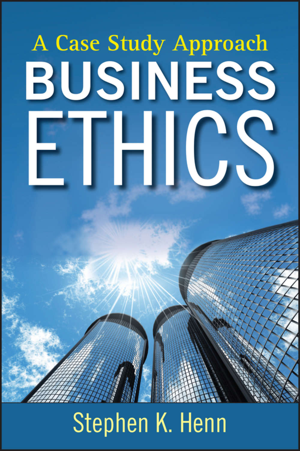 business ethic case study Journal of business ethics in scientific research and six short case studies in research ethics each case is accompanied by an instructor guide.
