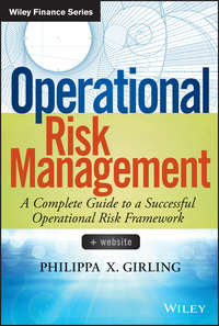 Philippa Girling X. - Operational Risk Management. A Complete Guide to a Successful Operational Risk Framework