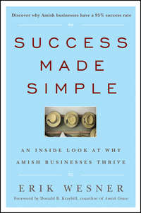 Erik  Wesner - Success Made Simple. An Inside Look at Why Amish Businesses Thrive