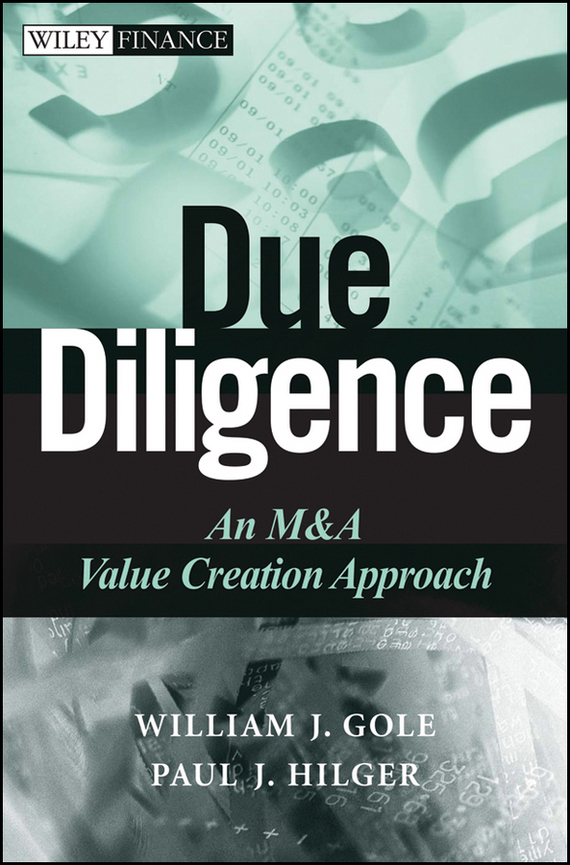 William Gole J. Due Diligence. An M&A Value Creation Approach alexander carol an introduction to value at risk