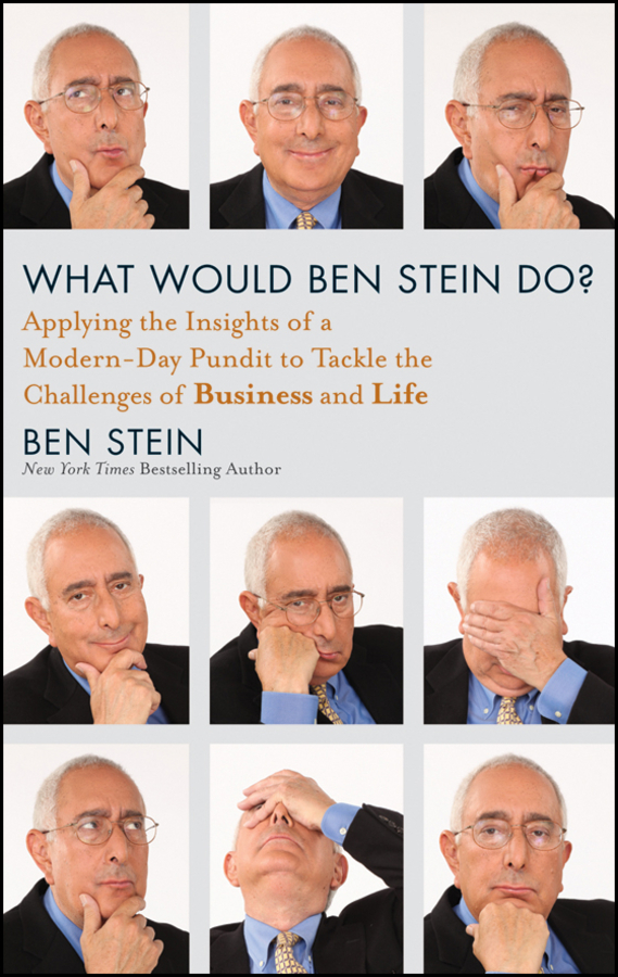 Ben  Stein What Would Ben Stein Do?. Applying the Wisdom of a Modern-Day Prophet to Tackle the Challenges of Work and Life leslie stein the making of modern israel 1948 1967