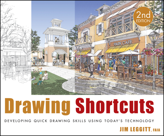 Jim Leggitt Drawing Shortcuts. Developing Quick Drawing Skills Using Today's Technology simple men s wallet with solid color and letter print design