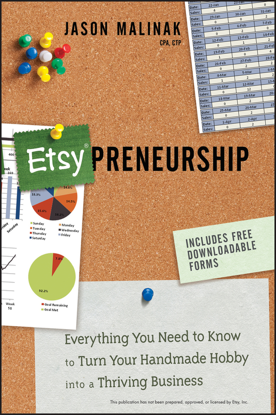 Jason Malinak Etsy-preneurship. Everything You Need to Know to Turn Your Handmade Hobby into a Thriving Business business fundamentals