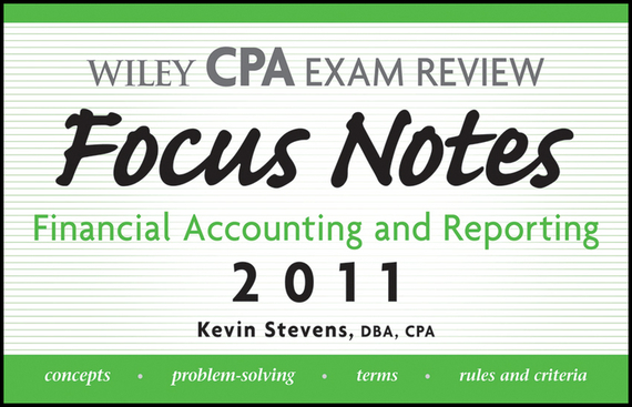 Kevin  Stevens Wiley CPA Examination Review Focus Notes. Financial Accounting and Reporting 2011 a classic concert cat stevens tea for the tillerman live