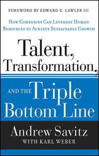 Karl  Weber - Talent, Transformation, and the Triple Bottom Line. How Companies Can Leverage Human Resources to Achieve Sustainable Growth