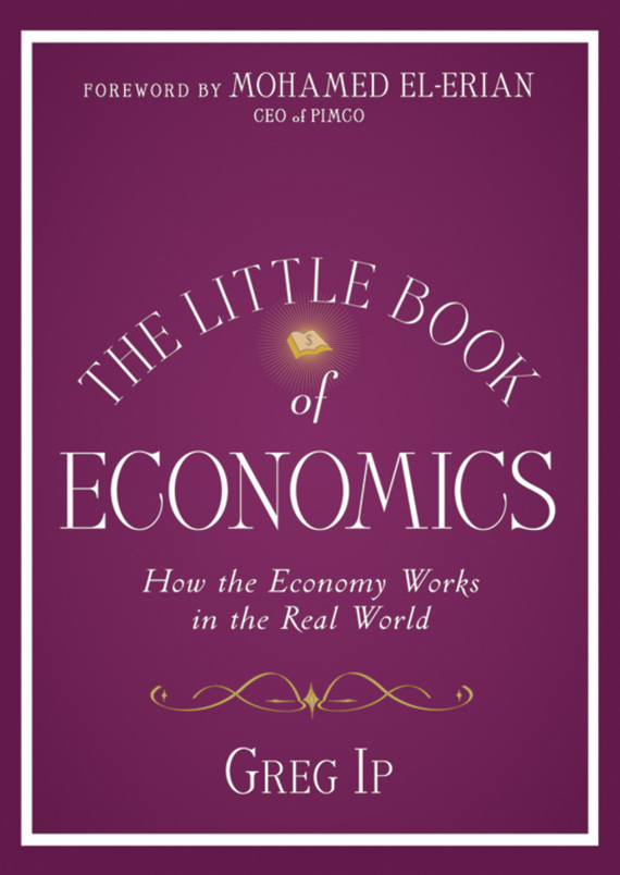Mohamed El-Erian The Little Book of Economics. How the Economy Works in the Real World the water economy of israel