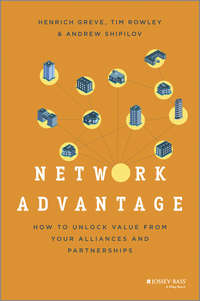 Henrich  Greve - Network Advantage. How to Unlock Value From Your Alliances and Partnerships