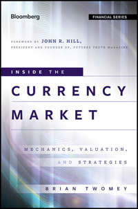 Brian  Twomey - Inside the Currency Market. Mechanics, Valuation and Strategies
