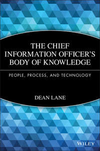 Dean  Lane - The Chief Information Officer's Body of Knowledge. People, Process, and Technology