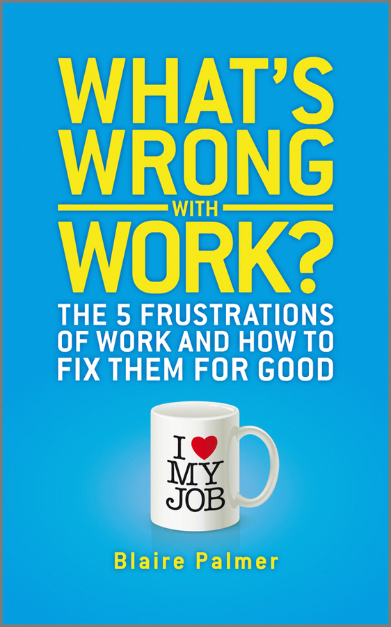 Blaire Palmer What's Wrong with Work?. The 5 Frustrations of Work and How to Fix them for Good rolled ballscrew sfs1616 with single nut can be end machine