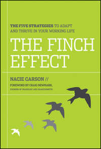 Nacie  Carson - The Finch Effect. The Five Strategies to Adapt and Thrive in Your Working Life