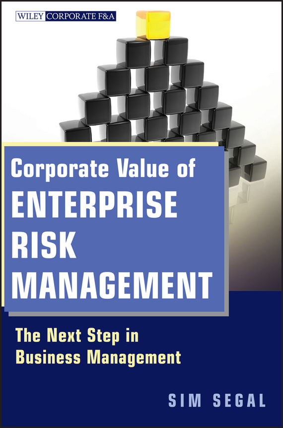 Sim Segal Corporate Value of Enterprise Risk Management. The Next Step in Business Management juan stegmann pablo strategic value management stock value creation and the management of the firm