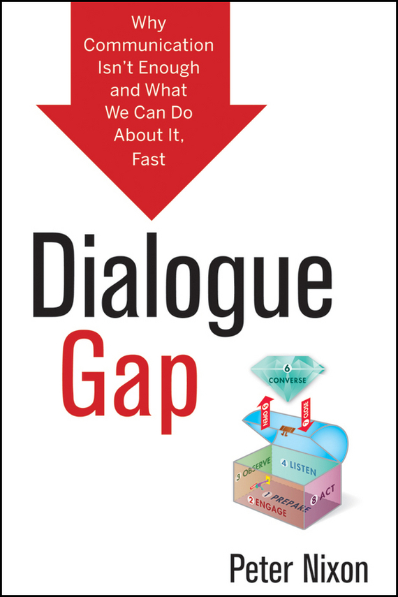 Peter  Nixon Dialogue Gap. Why Communication Isn't Enough and What We Can Do About It, Fast the health gap