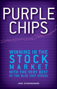 John  Schwinghamer - Purple Chips. Winning in the Stock Market with the Very Best of the Blue Chip Stocks