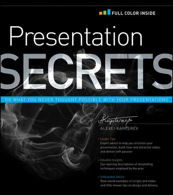 Alexei Kapterev Presentation Secrets eyes open 3 presentation plus dvd rom