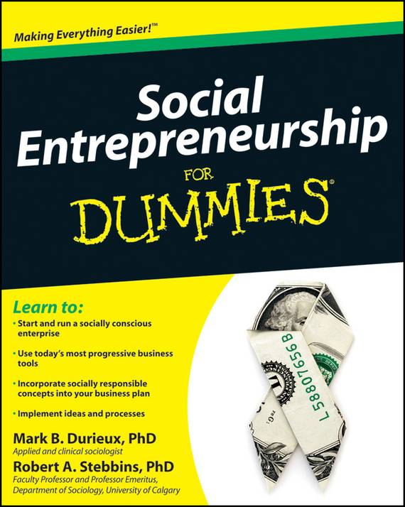 Mark Durieux Social Entrepreneurship For Dummies marc lane j the mission driven venture business solutions to the world s most vexing social problems