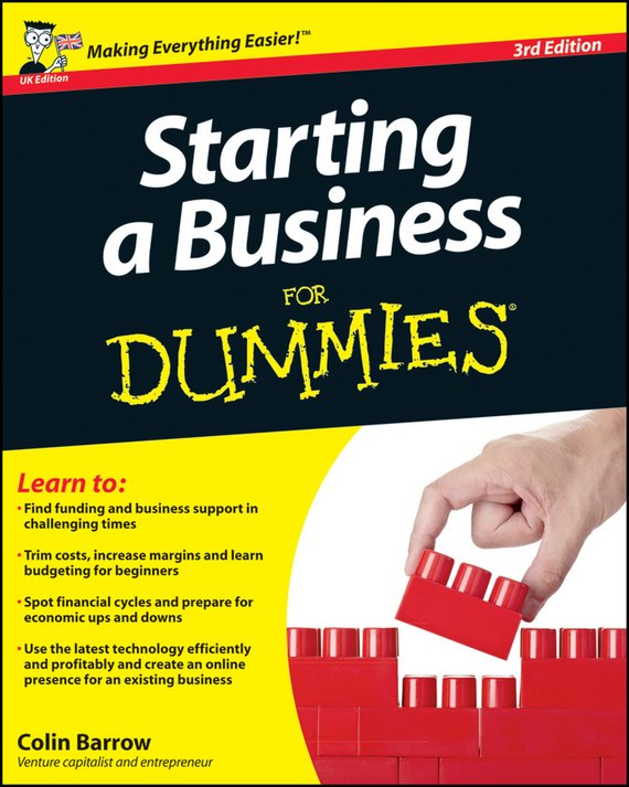Colin  Barrow Starting a Business For Dummies colin barrow starting a business for dummies