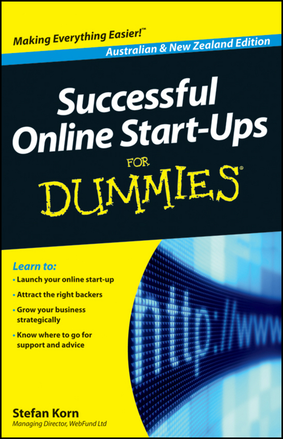 Stefan Korn Successful Online Start-Ups For Dummies