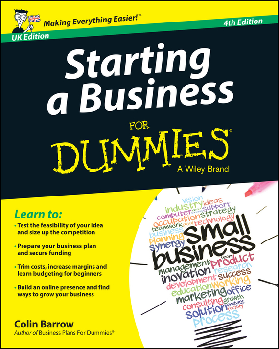 Colin  Barrow Starting a Business For Dummies - UK tony levene investing for dummies uk