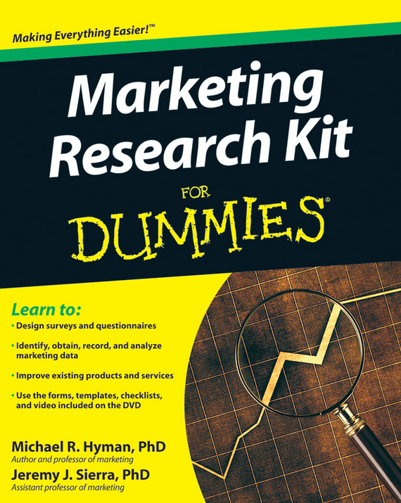 Michael  Hyman Marketing Research Kit For Dummies michael hyman marketing research kit for dummies