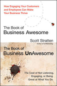 Scott  Stratten - The Book of Business Awesome / The Book of Business UnAwesome